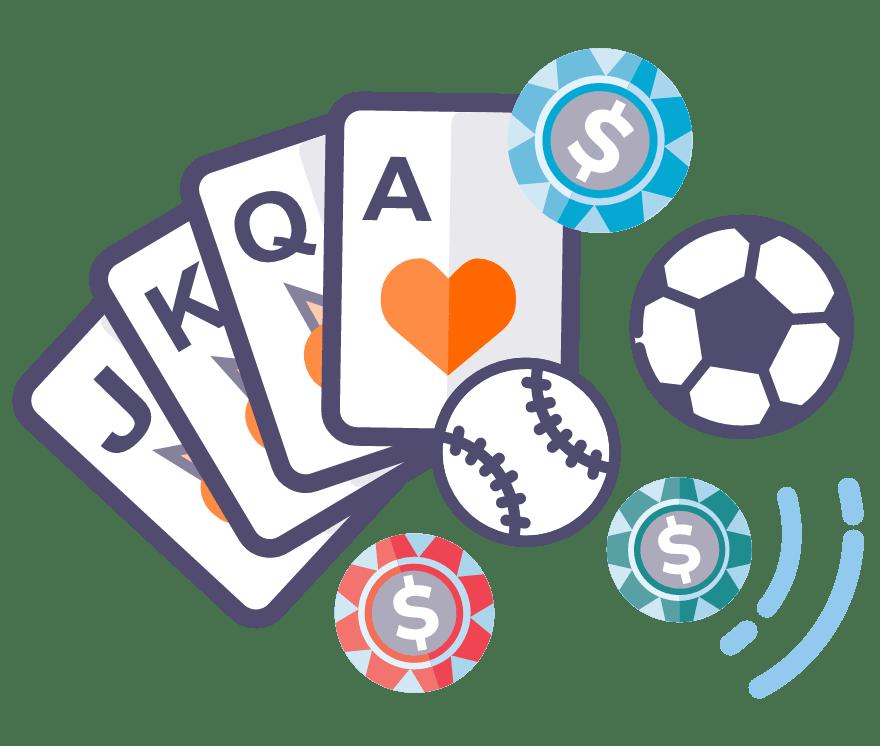 Spill Sports Betting Online -De beste 16 Casino På Nett med høyest utbetaling 2021