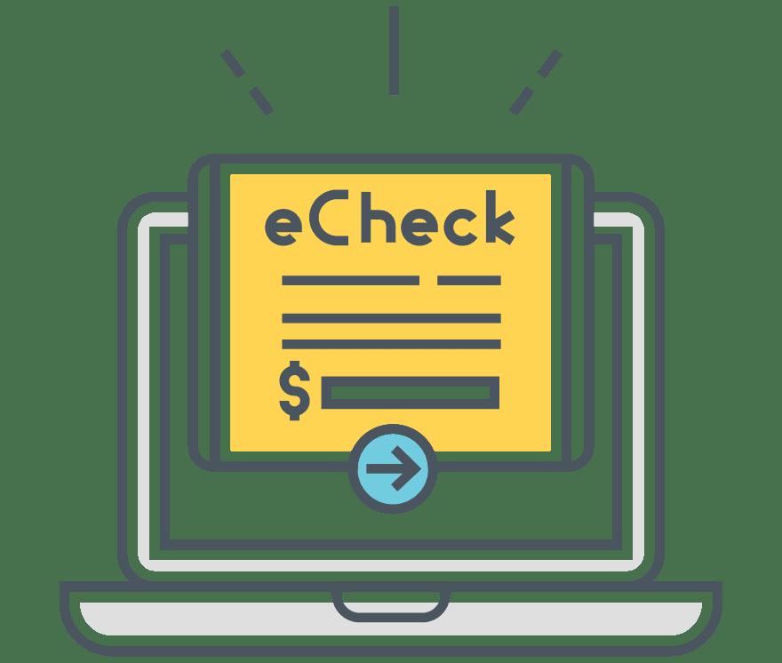 Top 4 eChecks Casino på netts 2021 -Low Fee Deposits