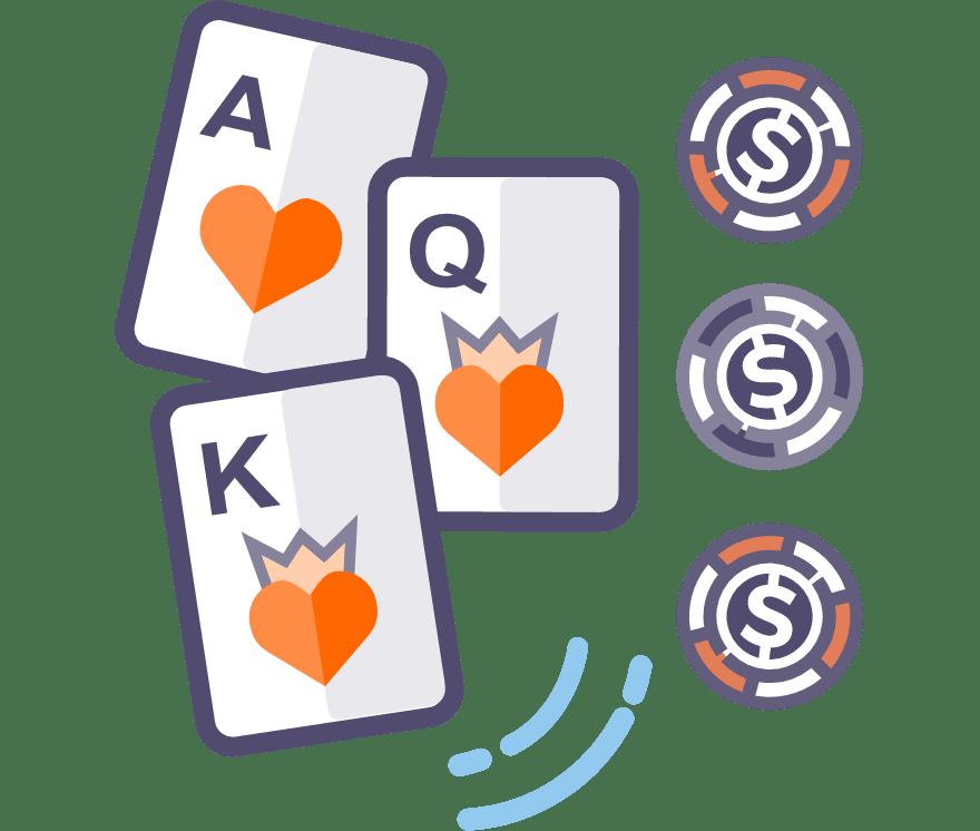 Spill Trekorts poker Online -De beste 63 Casino På Nett med høyest utbetaling 2021