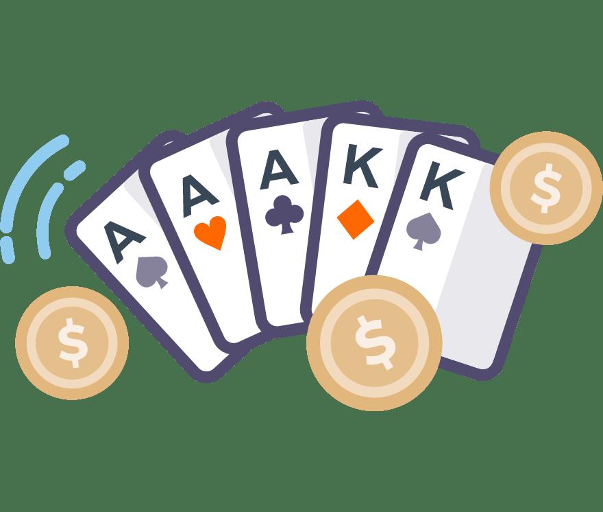 Spill Poker Online -De beste 116 Casino På Nett med høyest utbetaling 2021