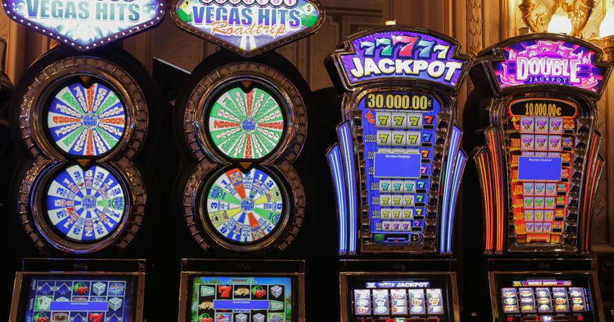 Spilleautomater som pumpes i formuer