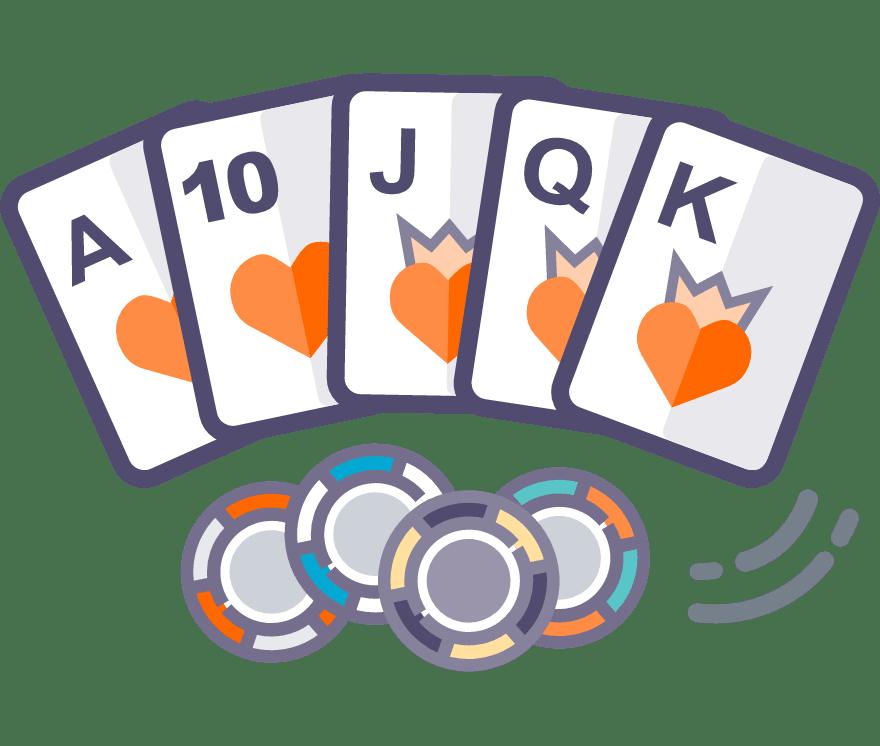 Spill Texas Holdem Online -De beste 47 Casino På Nett med høyest utbetaling 2021