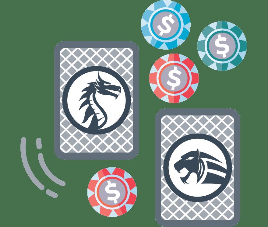 Spill Dragon Tiger Online -De beste 52 Casino På Nett med høyest utbetaling 2021